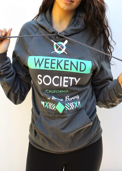 Weekend Society nautical line