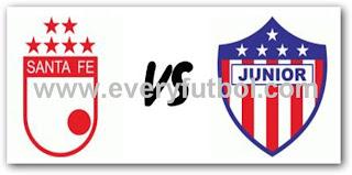 Ver Santa Fe Vs Junior Online En Vivo – FPC Liga Postobon