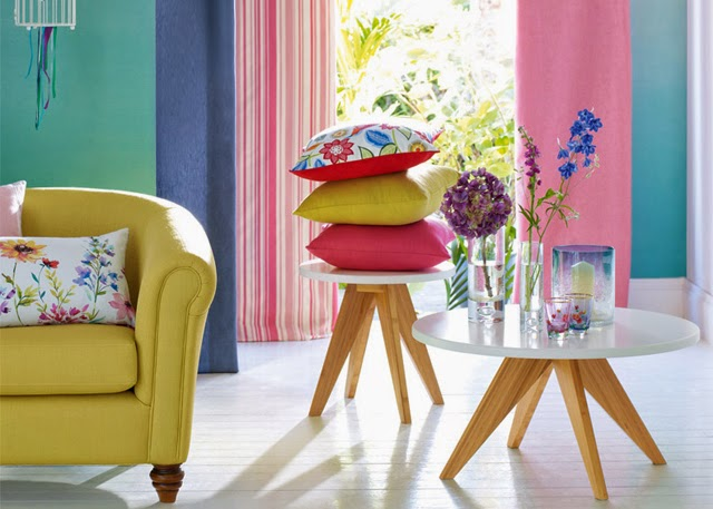 Decoracion low cost con textiles