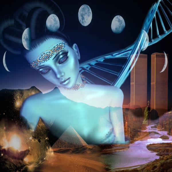 Resultado de imagem para Mnemosine deusa da memoria