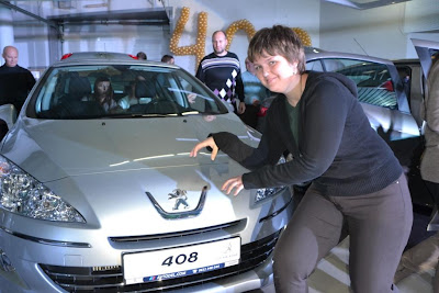 Презентация Peugeot 408 в автосалоне Автодель в Симферополе. Пежо 408
