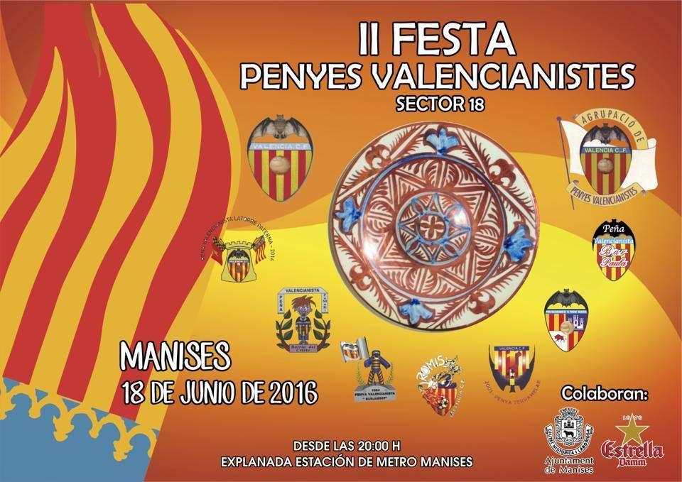 18.06.16 II FESTA DE PENYES VALENCIANISTES EN MANISES