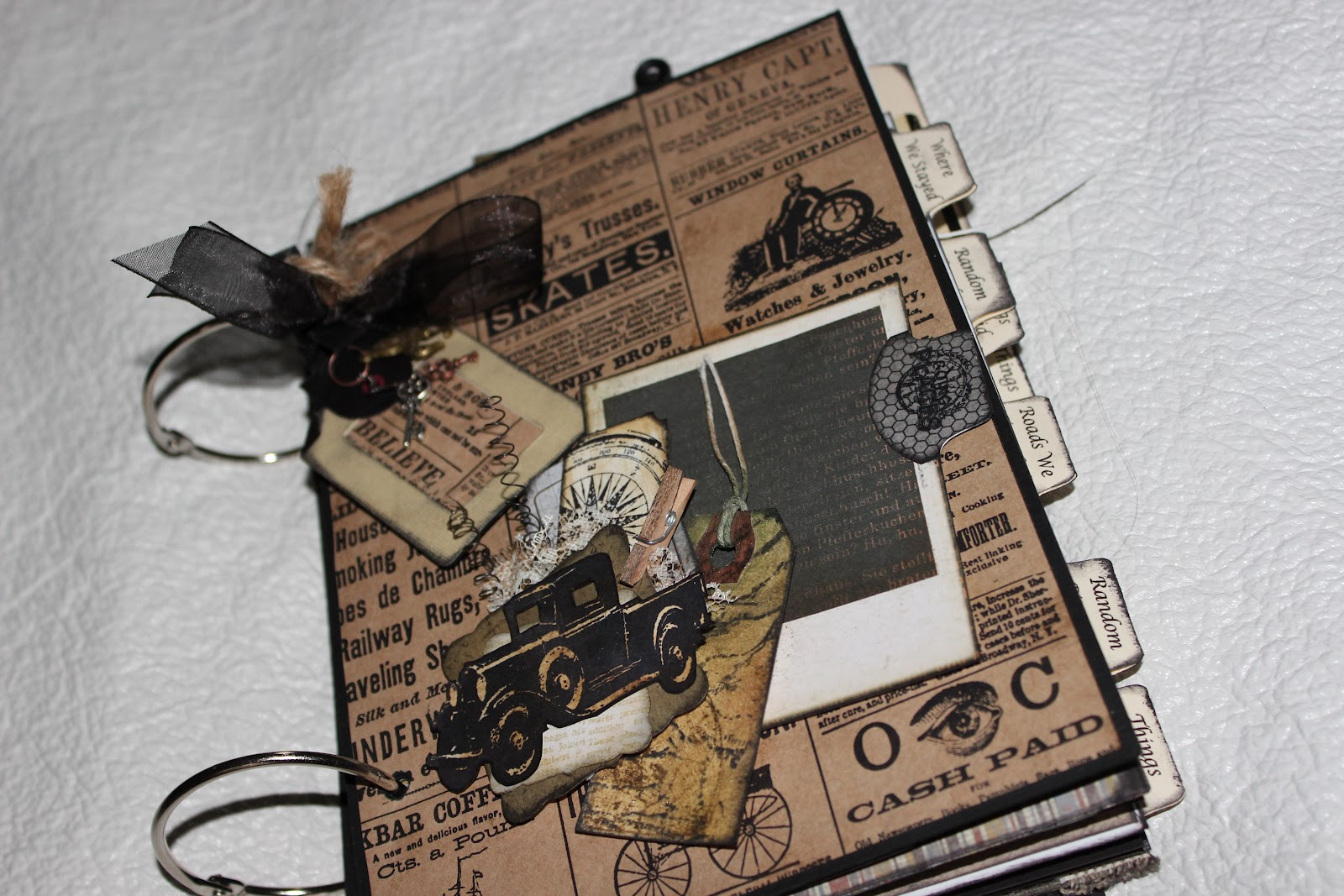 How to scrapbook a road trip - I Will Also Be Posting Pictures Of The Junk Journal I Made For My Own Family To Take On Our Next Road Trip That One Is Kind Of A Junk Journal