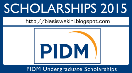 PIDM Scholarship 2015