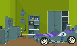 Modern Car Room Escape 2