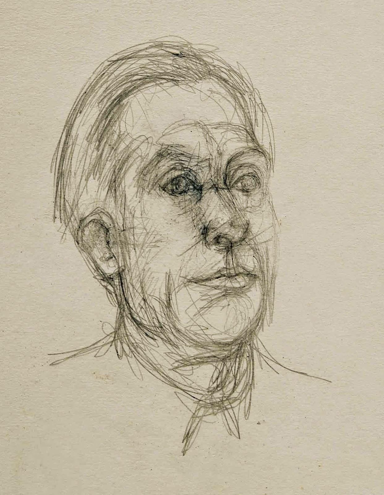 Alberto Giacometti: Pierre Reverdy, ~1960.