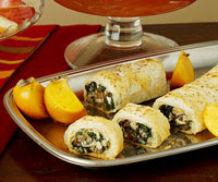 Greek Lamb and Cheese Strudel