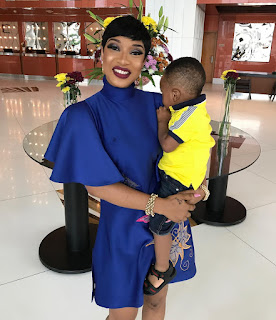 Tonto Dikeh & Son In New Adorable Picture