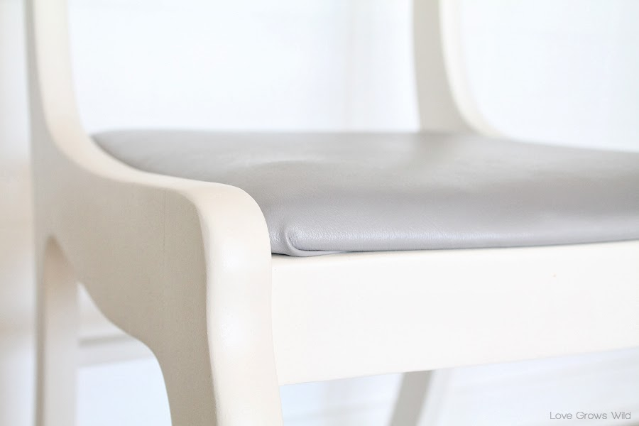 Dining Chair Makeover How to Strip Paint and Recover