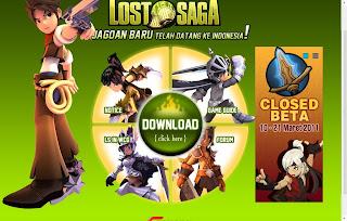 Gemscool Lost Saga Online Indonesia