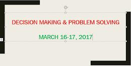 8. Decision making & Problem solving
