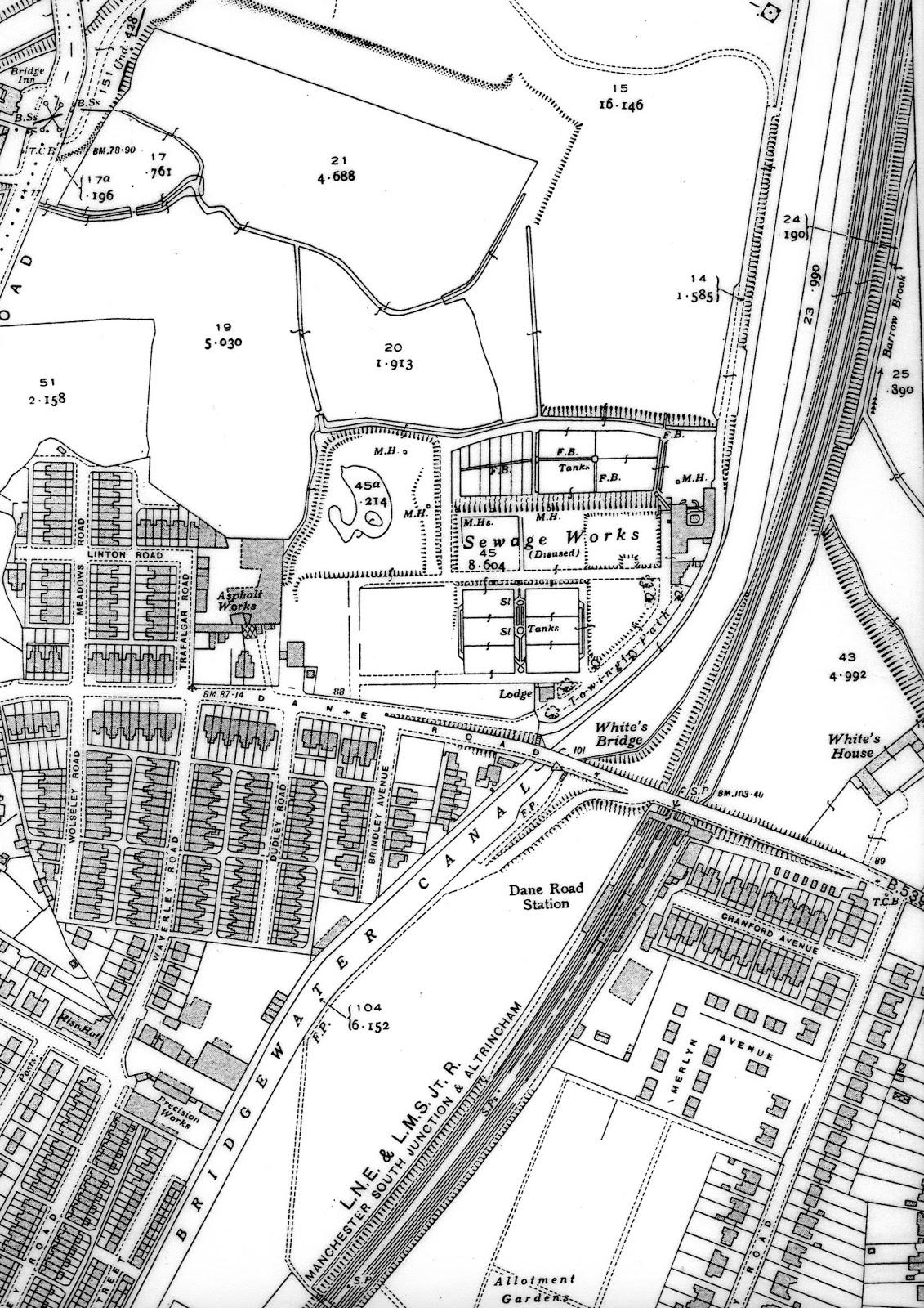 1930 map of white s bridge and wharves