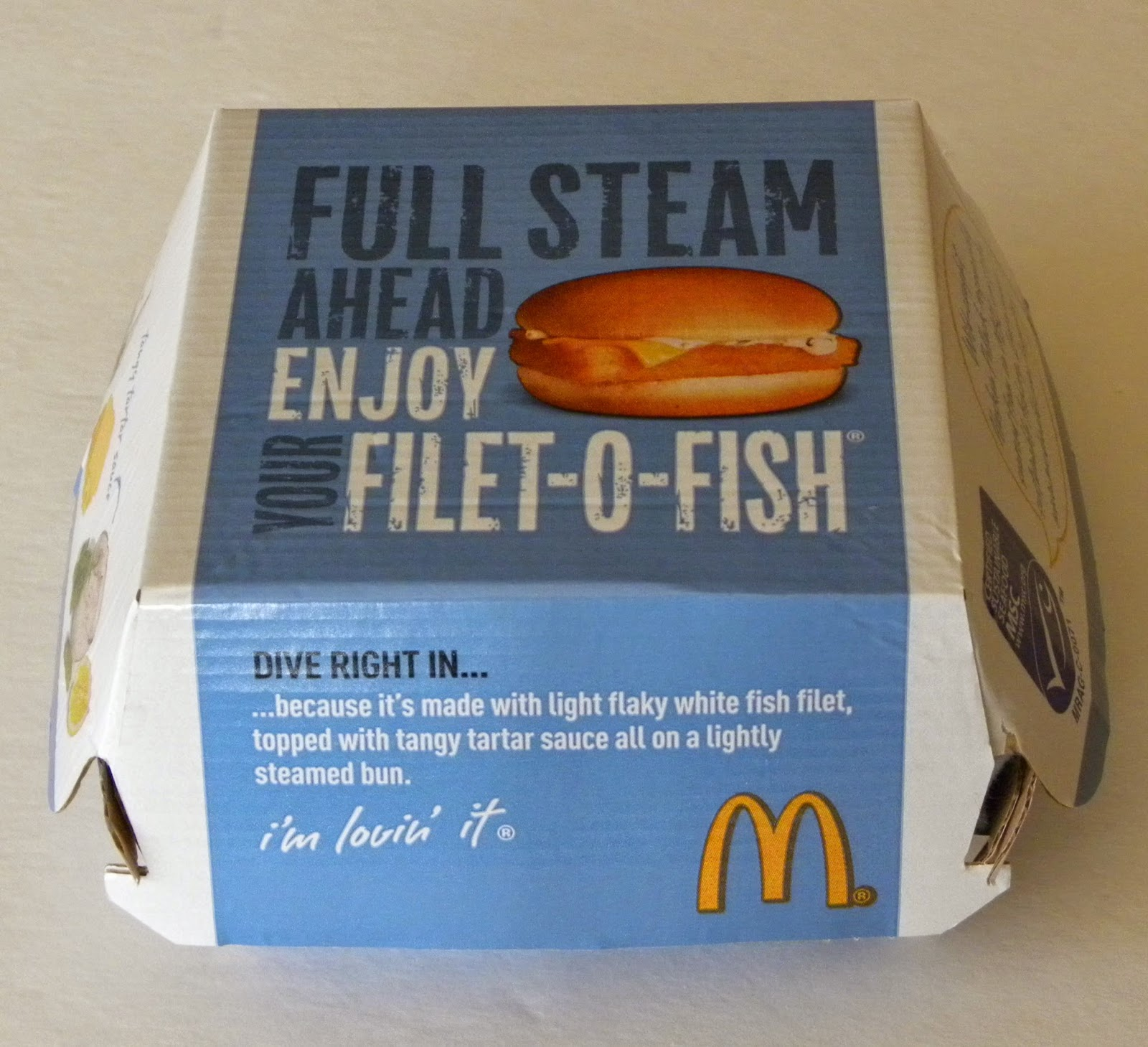 Knit and pearl full steam ahead for Filet o fish friday 2017
