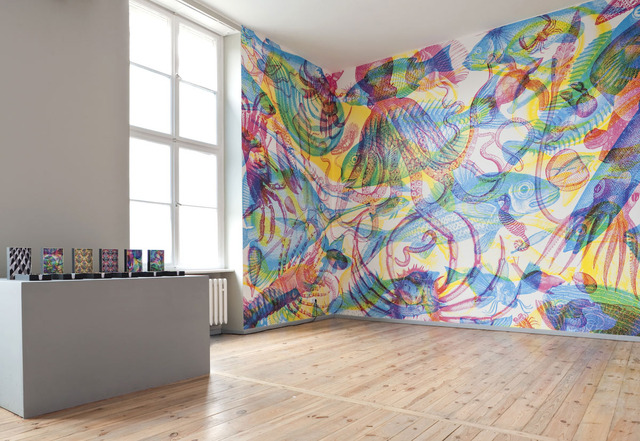 A chaque pièce son papier peint Les murs Idéesmaison  - Papier Peint Pour Cage Escalier
