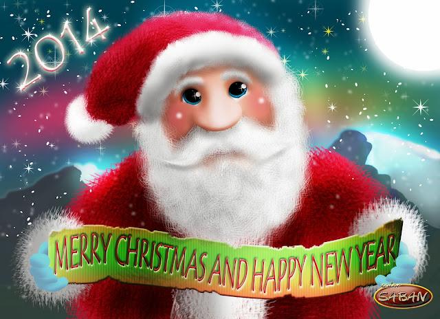 hermanosaban - Feliz Navidad y  Prospero año nuevo 2014