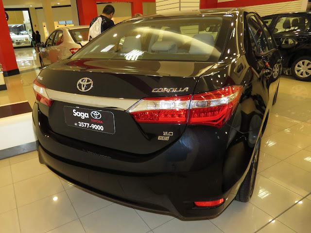 Toyota Corolla XEi 2.0 CVT 2016