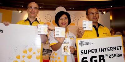 Indosat Mentari Luncurkan Super Internet 6 GB