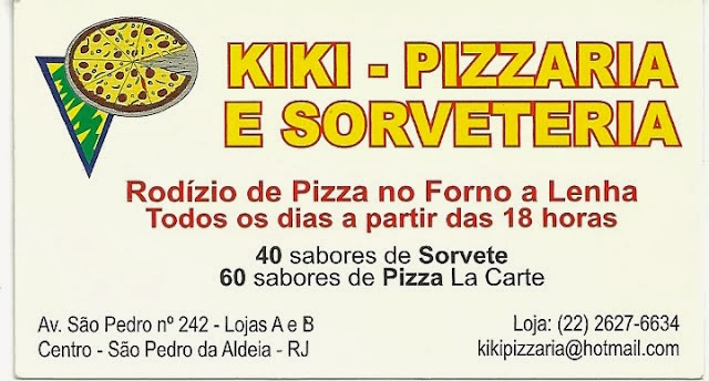Kiki Pizzaria e Sorveteria