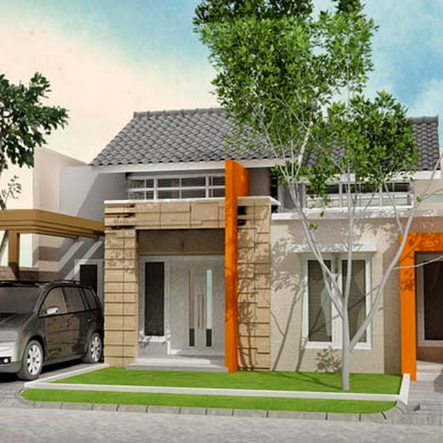 kumpulan gambar rumah terbaru desain model teras rumah