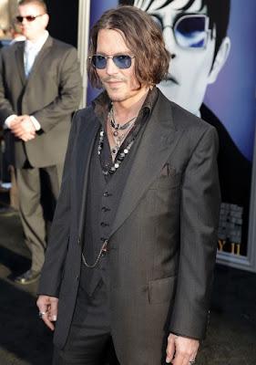 Johnny Depp confiesa que no ve por el ojo izquierdo