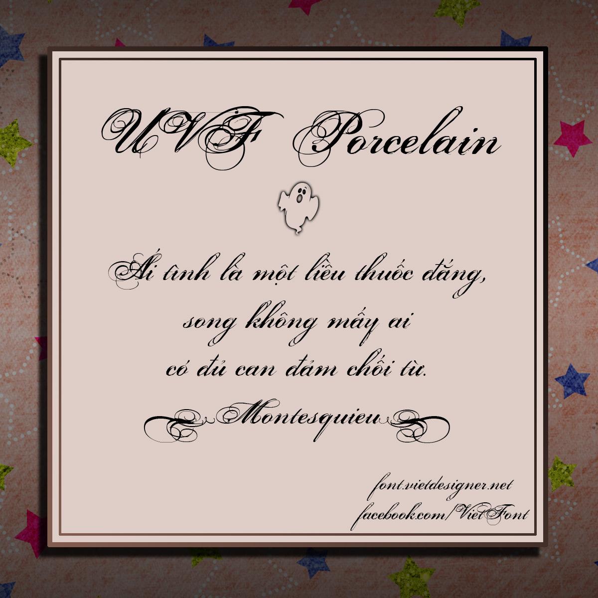 UVF Porcelain