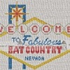 las vegas sign cross stitch chart