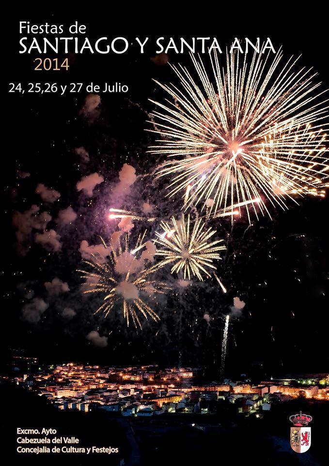 Fiestas de Santiago y Santa Ana en Cabezuela del Valle