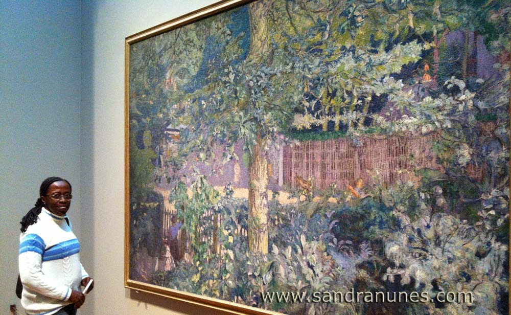 Sandra Nunes at The art Institute of Chicago - Edouard Vuillard
