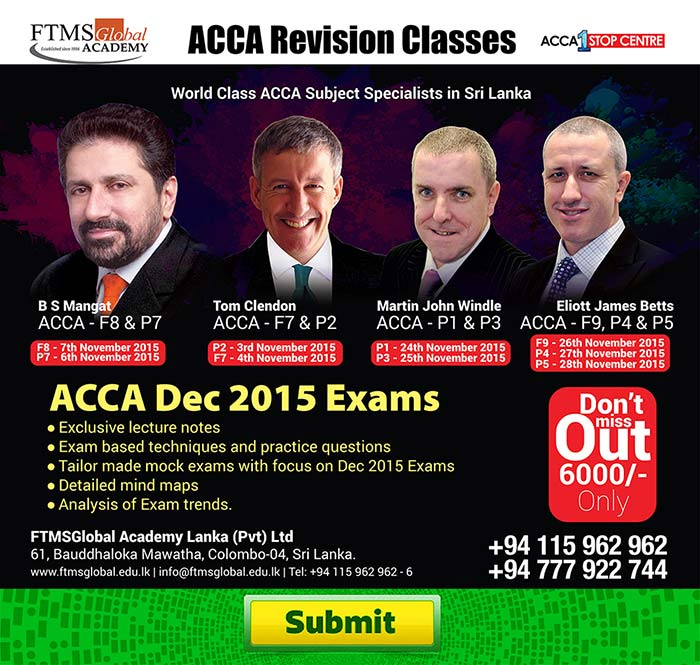 Tips for ACCA Exams December 2015
