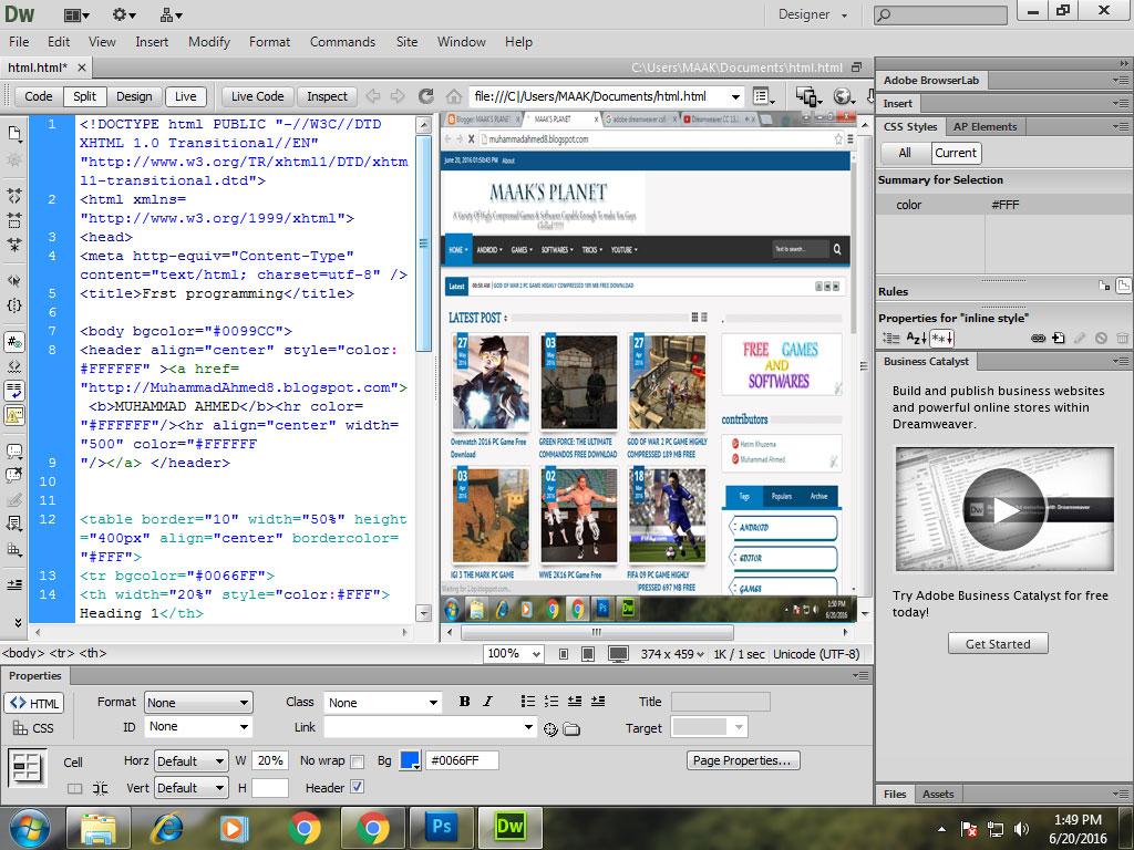 Adobe Dreamweaver CS6 FULL - mafabwareblogspotcom