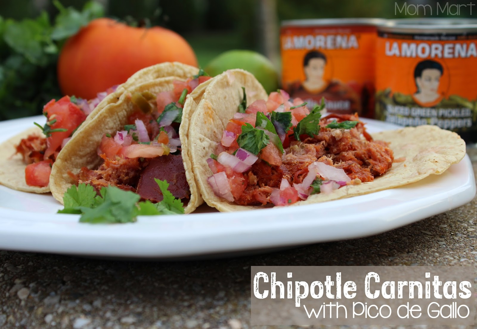 Chipotle Carnitas and Homemade Pico de Gallo Recipe with La Morena #VivaLaMoreno #shop #Foodie