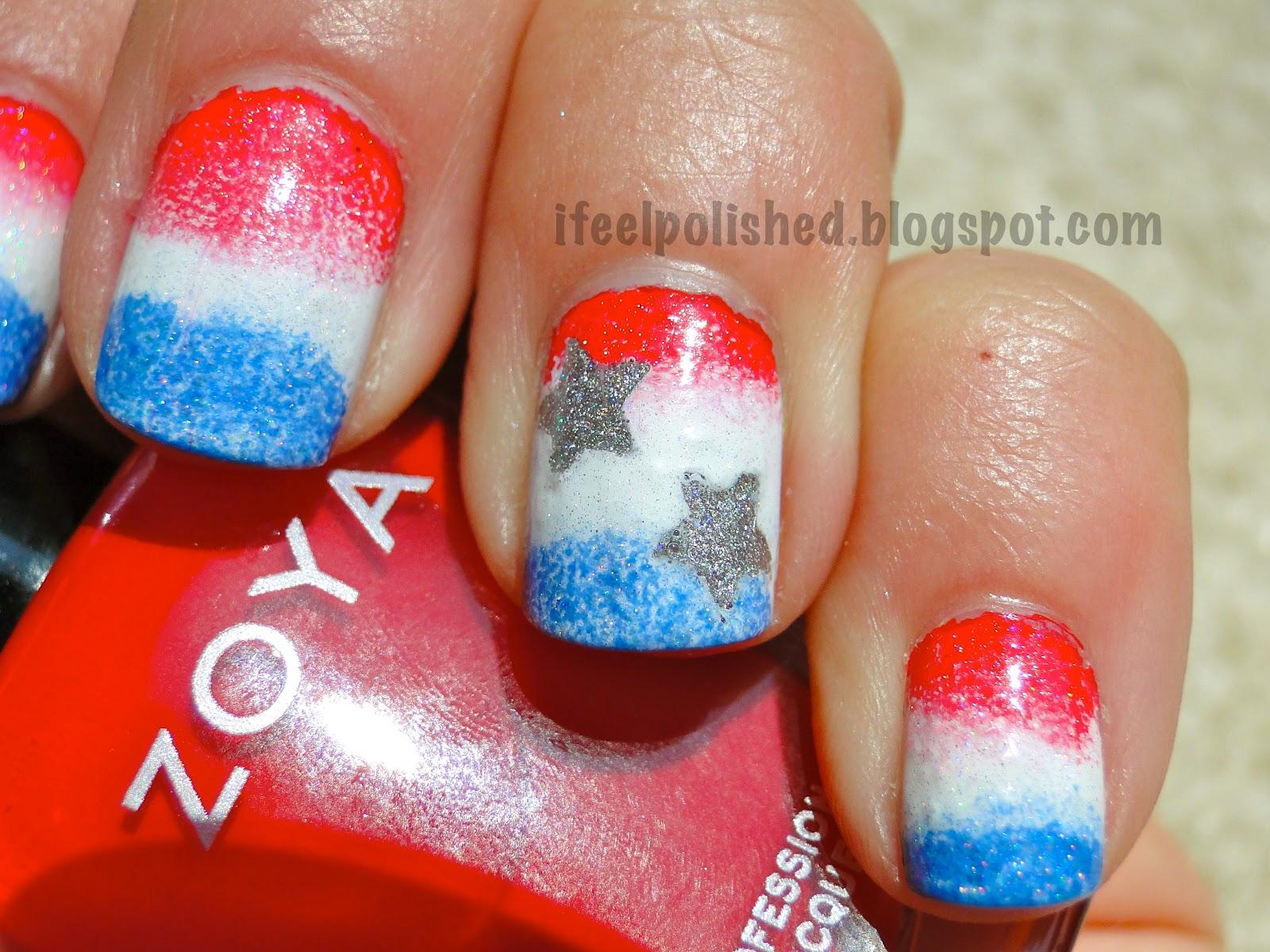 I Feel Polished!: 4th of July Nails!