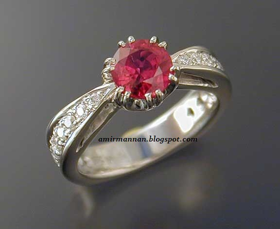 how to clean ruby ring