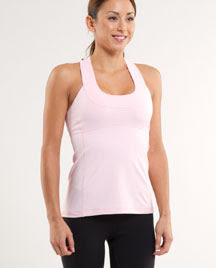 lululemon pig pink scoop neck tank