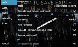Cara Setting Game PPSSPP Pes2015/16 di Android Work Tanpa Lag