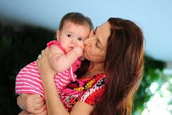 Minha filha Erika e Maria Helena