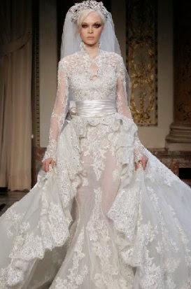 de mariee avec hijab n 2 robe de mariee avec hijab n 3