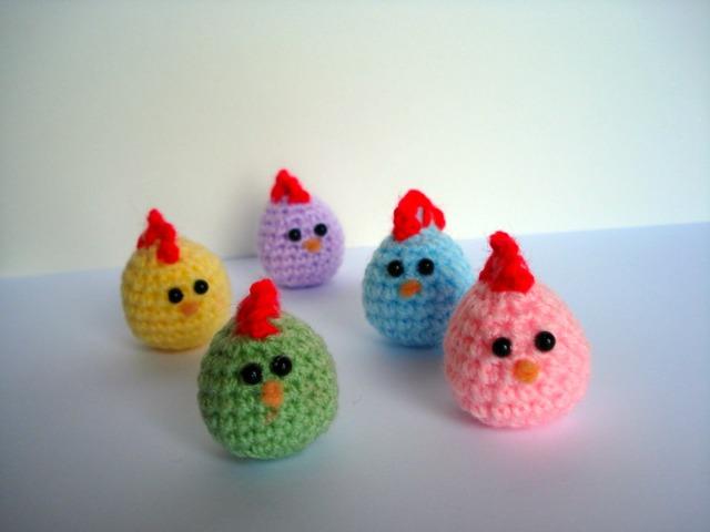 Amigurumi Baby Chicks : AllSoCute Amigurumis: Crochet Amigurumi Mom and Baby ...