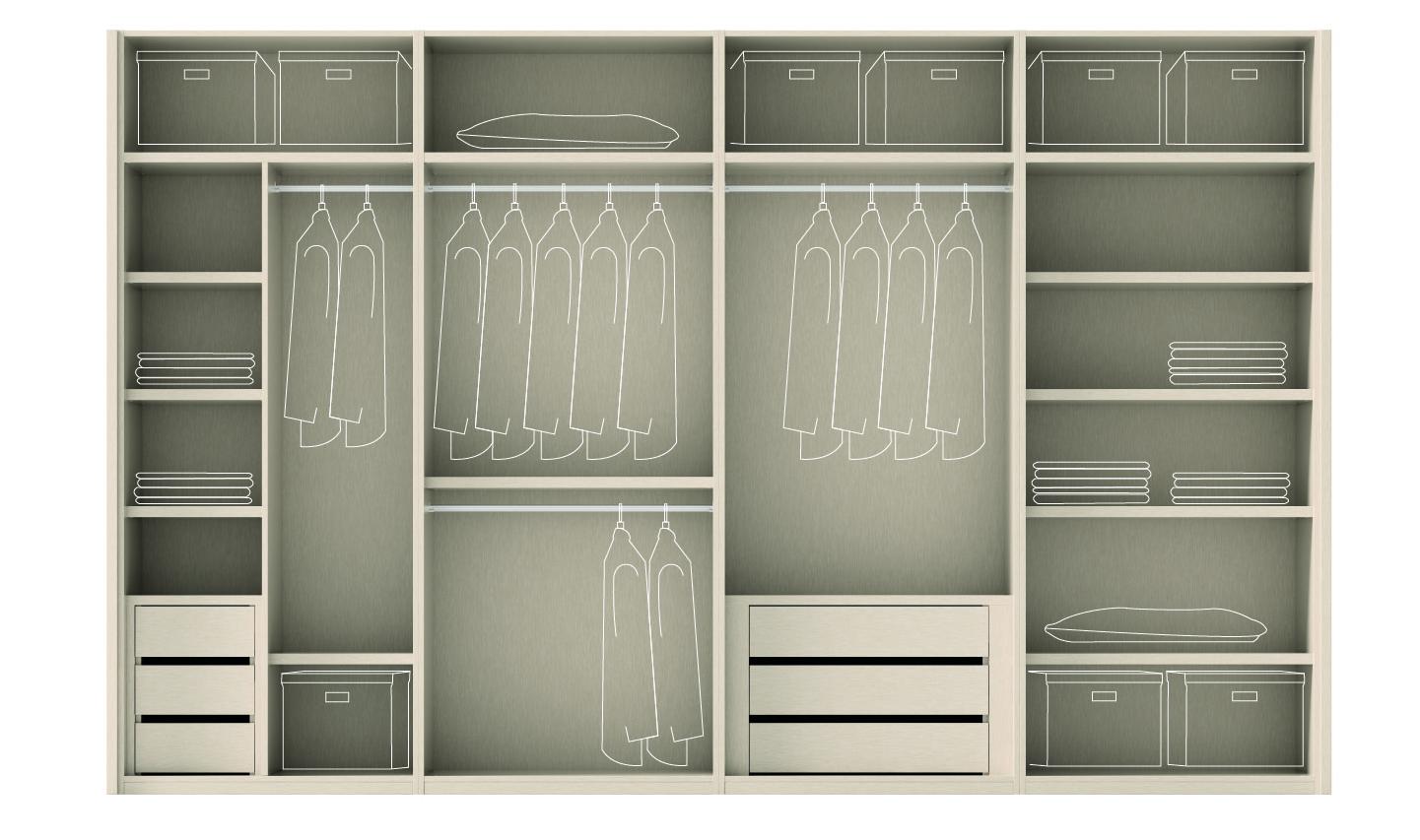 Muebles ros armarios interiores y almacenaje - Armarios para almacenaje ...