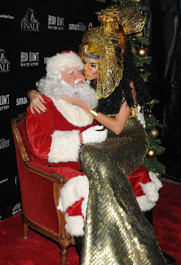 Stars snuggle up to santa claus charles onwuemene s
