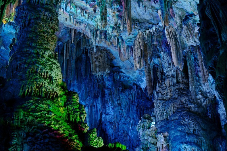 beyaar reed flute cave in guilin china