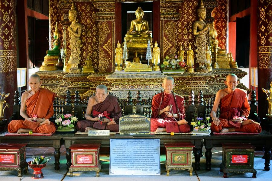 Mnich w Tajlandii, Waty