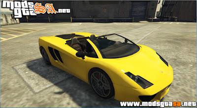 V - Vacca Spyder para GTA V PC