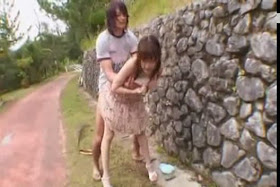 bokep jepang - Sex on the bed with girlfriend