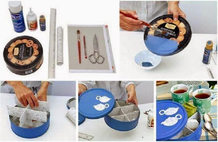 Riciclare barattoli di latta qi35 regardsdefemmes - Riciclare scatole ...