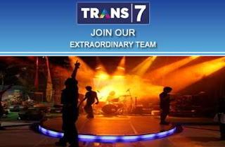 Lowongan Kerja di TRANS7