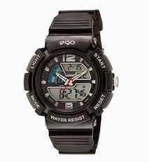 Maxima Ego Analog-Digital Black Dial Unisex Watch worth Rs.2195 for Rs.899 Only @ Amazon