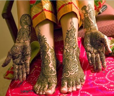 New Indian Bridal Mehndi Designs