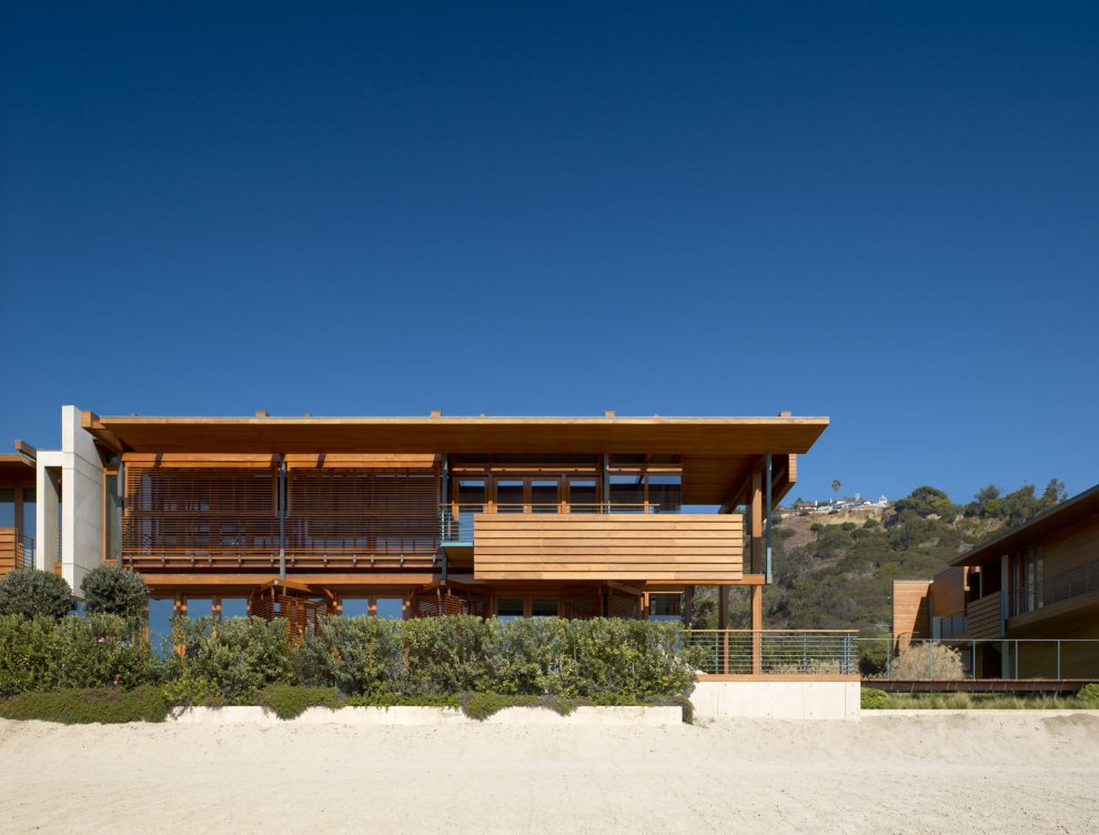 Malibu Beach House California on modern house design in peru