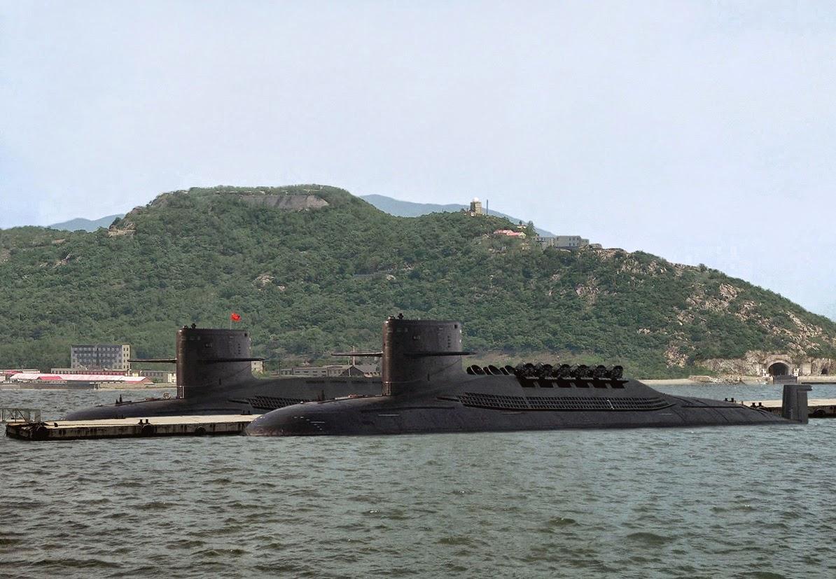 Type 094 Jin Class Submarine